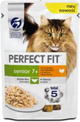 Perfect Fit senior 7+ Fit Katzenfutter mit Truthahn & Karotten in Sauce