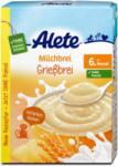 dm Alete Milchbrei Grießbrei