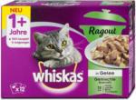 dm whiskas 1+ Jahre Ragout Katzenfutter Gemischte Auswahl in Gelee