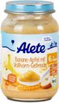 dm Alete Babybrei Banane-Apfel mit Vollkorn-Getreide
