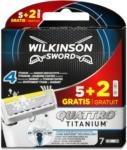 dm Wilkinson Sword Rasierklingen Quattro Titanium