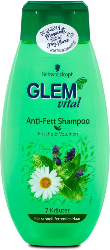 Glem vital Anti-Fett Shampoo 7 Kräuter