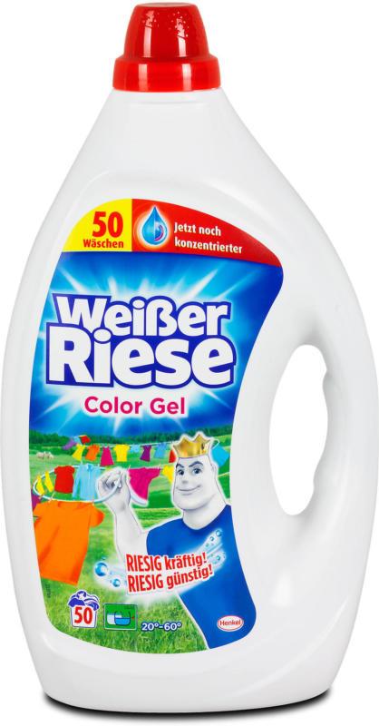 Weißer Riese Waschmittel Color Gel