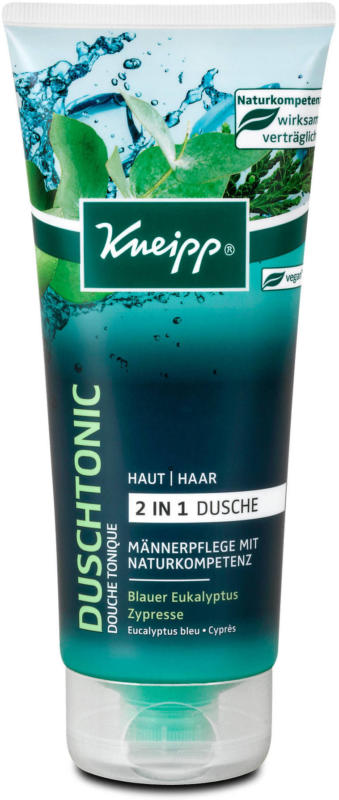 Kneipp Duschtonic 2in1 Dusche Blauer Eukalyptus & Zypresse