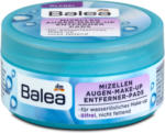 dm Balea Mizellen Augen-Make-up Entferner Pads ölfrei