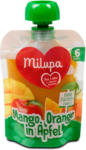 dm milupa Fruchtpüree Mango, Orange in Apfel