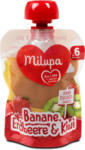 dm milupa Fruchtpüree Banane, Erdbeere & Kiwi