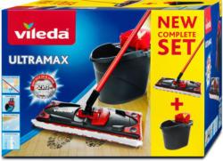 Vileda Ultramax Complete Set mit dreiteiligem Stiel