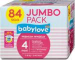 dm babylove Premium-Windeln Gr. 4 maxi (7-18 kg) Jumbo Pack