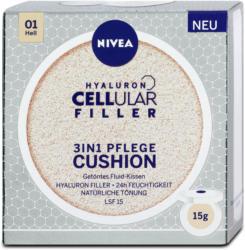 Nivea Hyaluron Cellular Filler 3in1 Pflege Cushion LSF 15 - Hell