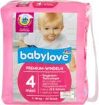 dm babylove Premium-Windeln Gr. 4 maxi (7-18 kg)
