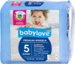 dm babylove Premium-Windeln Gr. 5 junior (12-25 kg)
