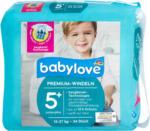 dm babylove Premium-Windeln Gr. 5+ juniorplus (13-27 kg)