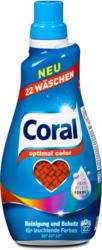 Coral Flüssigwaschmittel optimal color
