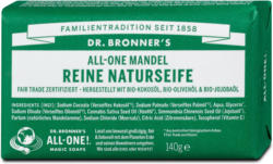 Dr. Bronner's All-One Mandel Reine Naturseife sort.
