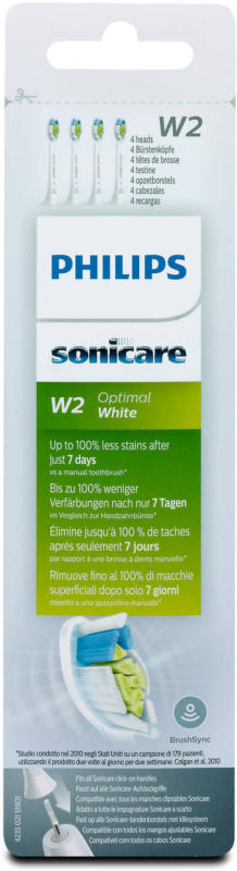 Philips sonicare Aufsteckbürsten W2 Optimal White