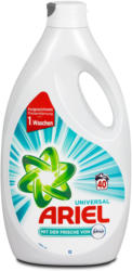 Ariel Universalwaschmittel mit der Frische von febreze