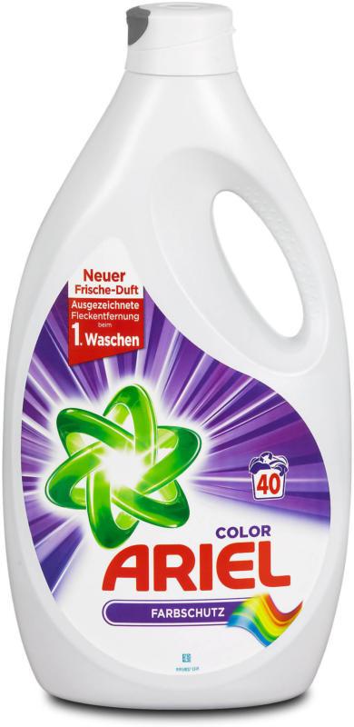Ariel flüssiges Colorwaschmittel