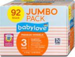 dm babylove Premium-Windeln Gr. 3 midi (4-9 kg) Jumbo Pack