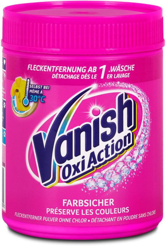 Vanish Oxi Action Farbsicher Fleckentferner Pulver