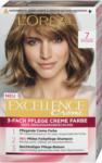 dm L'Oréal Paris Excellence Creme 3-Fach Pflege Creme Farbe - Nr. 7 Mittelblond
