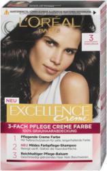 L'Oréal Paris Excellence Creme 3-Fach Pflege Creme Farbe - Nr. 3 Dunkelbraun