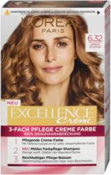 L'Oréal Paris Excellence Creme 3-Fach Pflege Creme Farbe - Nr. 6.32 Sonniges Hellbraun