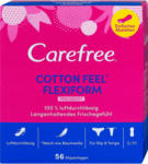 dm Carefree Slipeinlagen Cotton Flexiform mit Frischeduft
