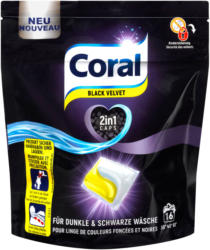 Coral 2in1 Waschmittelcaps Black Velvet