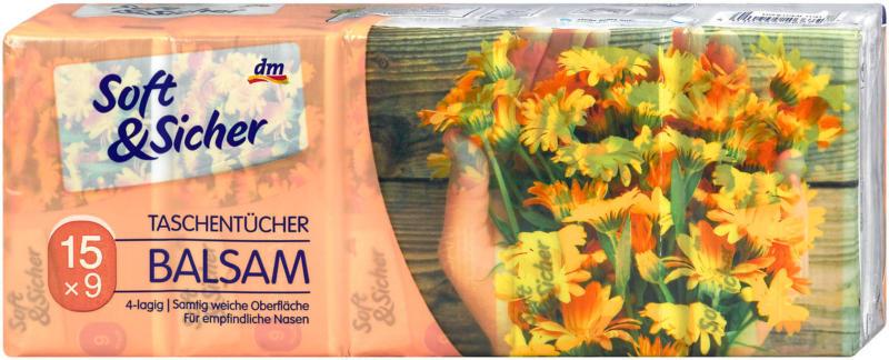 Soft&Sicher Taschentücher Balsam