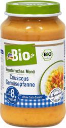dmBio Vegetarisches Babymenü Couscous Gemüsepfanne