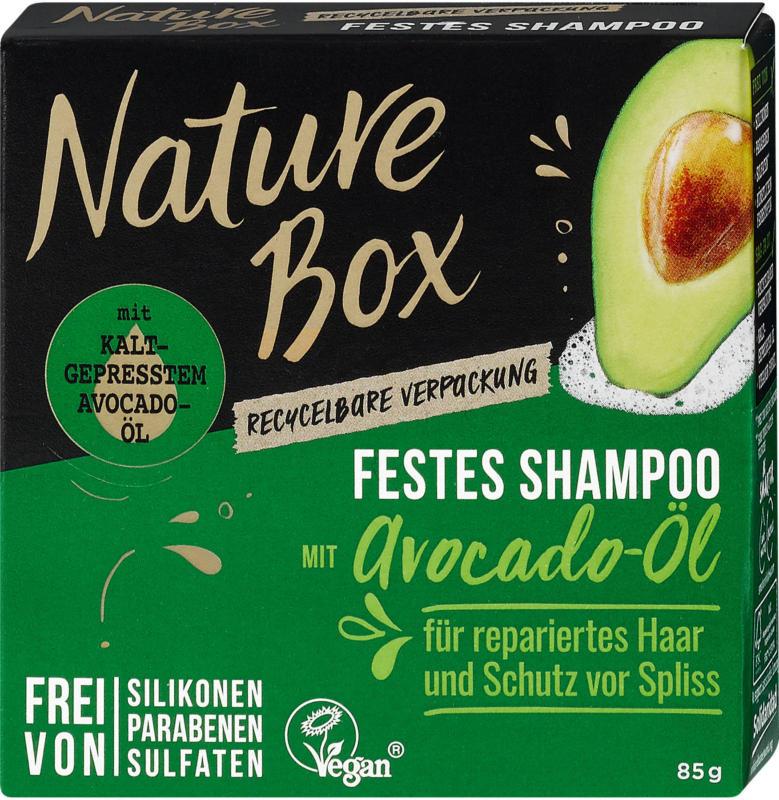 Nature Box Festes Shampoo mit Avocado-Öl