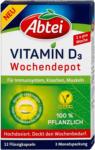 dm Abtei pflanzliche Vitamin D3 Wochendepot Kapseln
