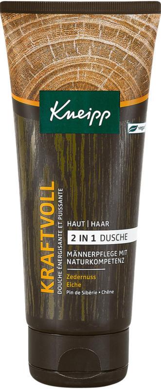 Kneipp Kraftvoll 2in1 Dusche Zedernuss & Eiche