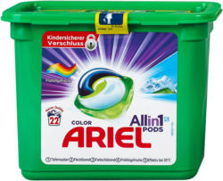 Ariel Colorwaschmittel All-in-1 Pods, 22 Waschladungen