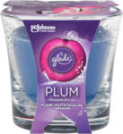dm Glade Plum Passion Pulse Duftkerze im Glas