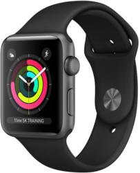 Apple Watch Series 3 GPS Aluminium Grey 42mm mit Sportarmban