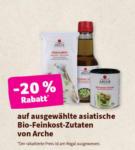denn's Biomarkt - Linz Lenaupark -20% auf ausgewählte asiatische Bio-Feinkost-Zutaten von Arche - bis 25.02.2020