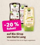 denn's Biomarkt - Innsbruck -20% auf Bio-Sirup von Karin Lang - bis 25.02.2020
