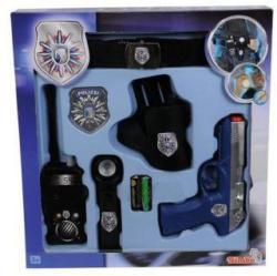 Polizeigürtel - aus Kunststoff - 6-teilig