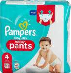dm Pampers baby-dry nappy pants Gr. 4 (9-15 kg)