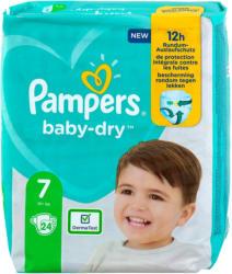 Pampers baby-dry Windeln Gr. 7 (15+ kg)