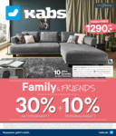Kabs PolsterWelt Online Family & Friends 30 % Aktionsrabatt - bis 25.02.2020