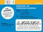 SKRIBO Aichinger Skribo Einladung zur Schultaschen-Ausstellung! 14.02. - 15.02. - bis 15.02.2020