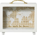 dm-drogerie markt Dekorieren & Einrichten Spardose Koffer mit Weltkarte