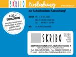 Skribo Skribo Einladung zur Schultaschen-Ausstellung! 06.03. - 07.03. - bis 07.03.2020