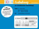 SKRIBO Schachtner Skribo Einladung zur Schultaschen-Ausstellung! 01.02. - 29.02. - bis 29.02.2020
