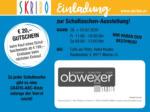 SKRIBO Schachtner Skribo Einladung zur Schultaschen-Ausstellung! 28.02. - 29.02. - bis 29.02.2020