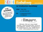 SKRIBO Schachtner Skribo Einladung zur Schultaschen-Ausstellung! 07.03. - bis 07.03.2020