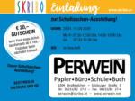 Skribo Einladung zur Schultaschen-Ausstellung! 20.01. - 11.04.
